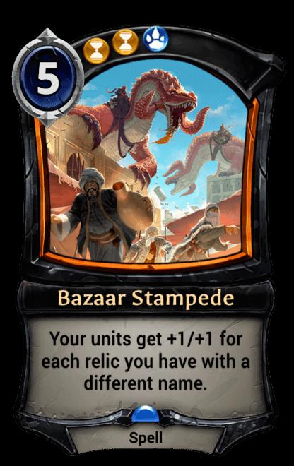 Card image for Bazaar Stampede