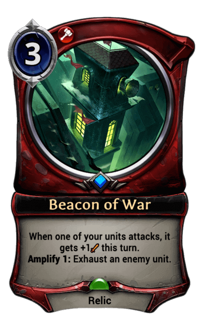 Card image for Beacon of War