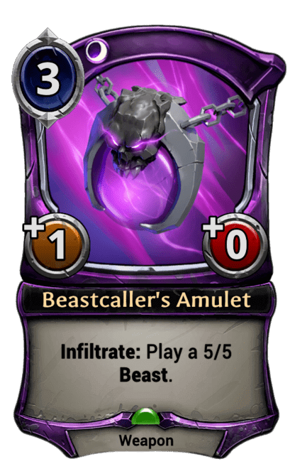 Card image for Beastcaller's Amulet