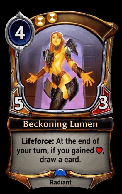 Card image for Beckoning Lumen