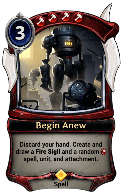 Card image for Begin Anew