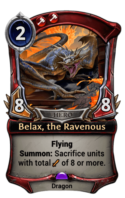 Card image for Belax, the Ravenous