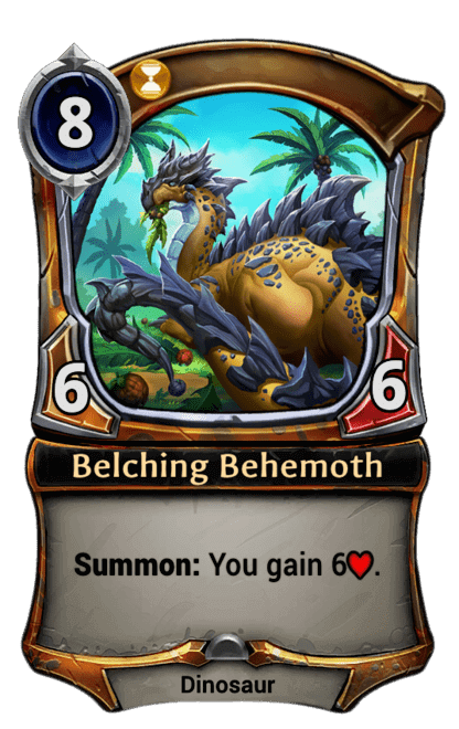Card image for Belching Behemoth