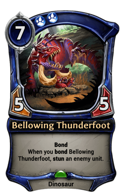Card image for Bellowing Thunderfoot