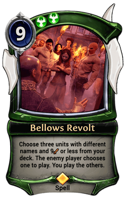 Card image for Bellows Revolt