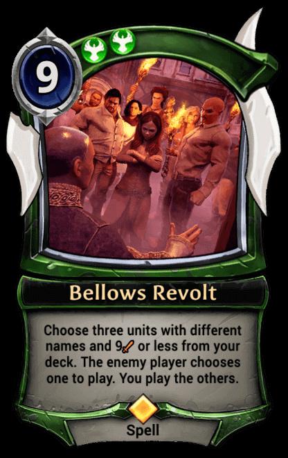 Card image for Bellows Revolt