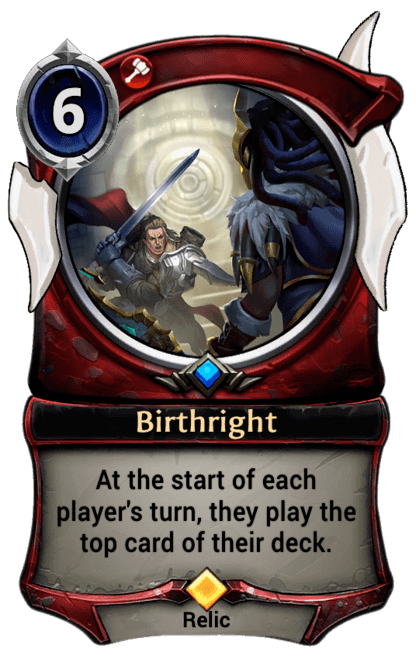 Card image for Birthright
