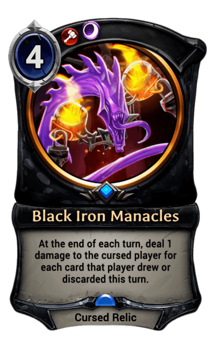 Card image for Black Iron Manacles