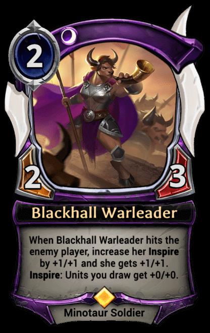 Card image for Blackhall Warleader