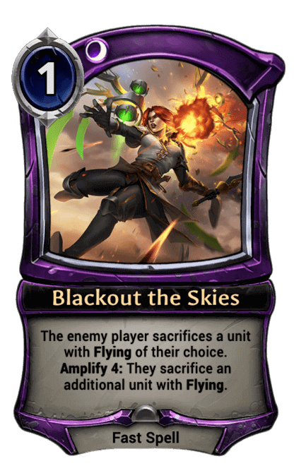 Card image for Blackout the Skies
