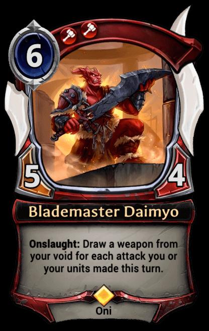 Card image for Blademaster Daimyo
