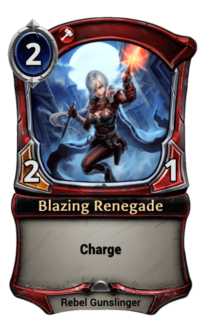 Card image for Blazing Renegade