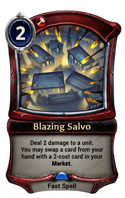 Card image for Blazing Salvo