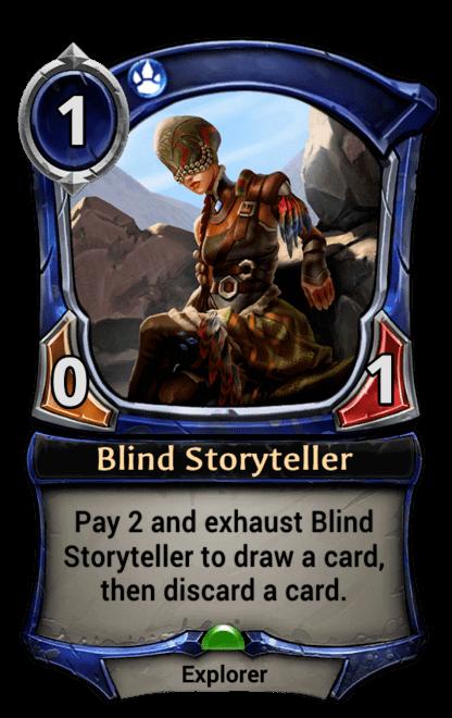 Card image for Blind Storyteller