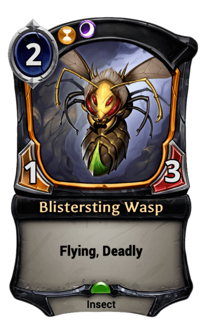 Card image for Blistersting Wasp