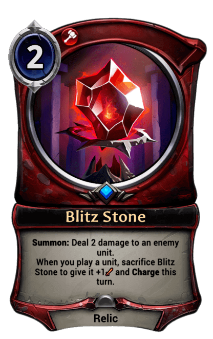 Card image for Blitz Stone