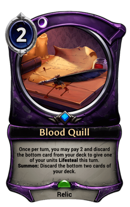 Card image for Blood Quill