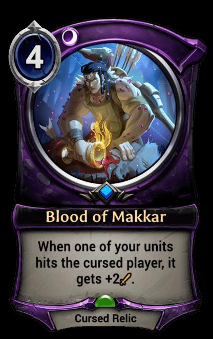 Card image for Blood of Makkar