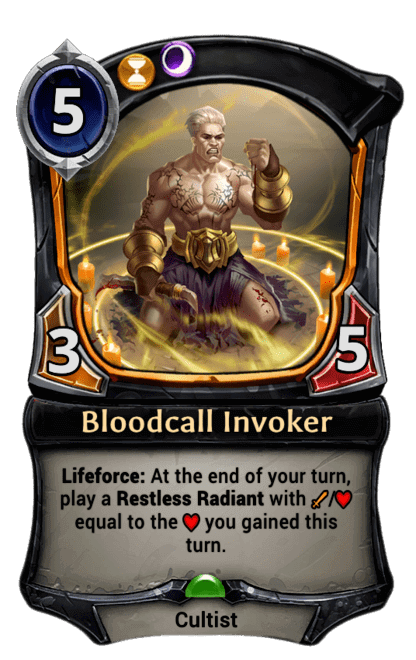 Card image for Bloodcall Invoker
