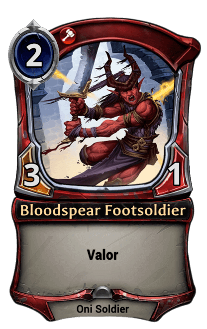 Card image for Bloodspear Footsoldier
