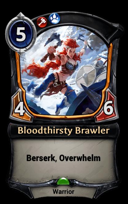 Card image for Bloodthirsty Brawler