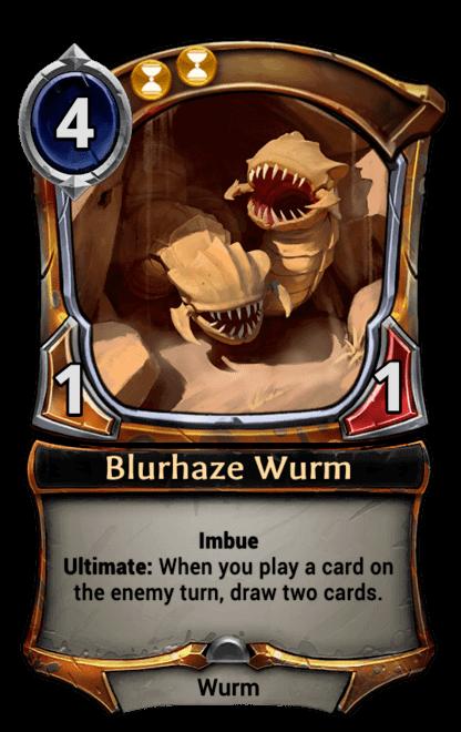 Card image for Blurhaze Wurm