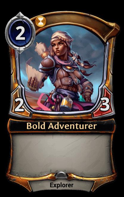 Card image for Bold Adventurer