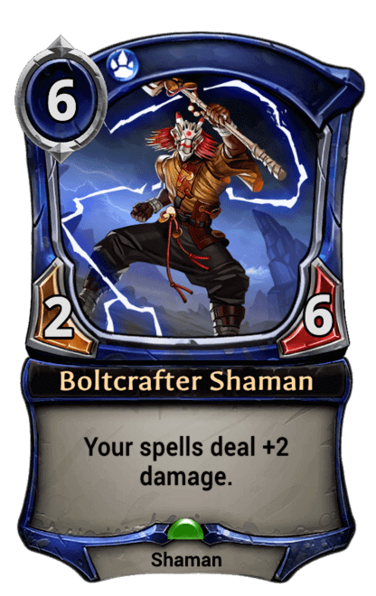 Card image for Boltcrafter Shaman