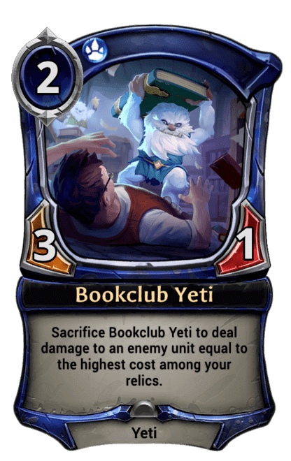 Card image for Bookclub Yeti