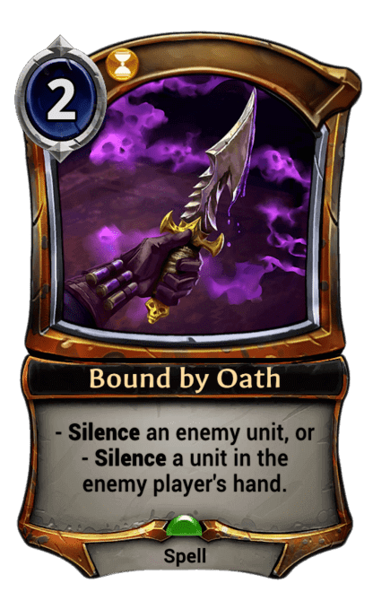 Card image for Bound by Oath
