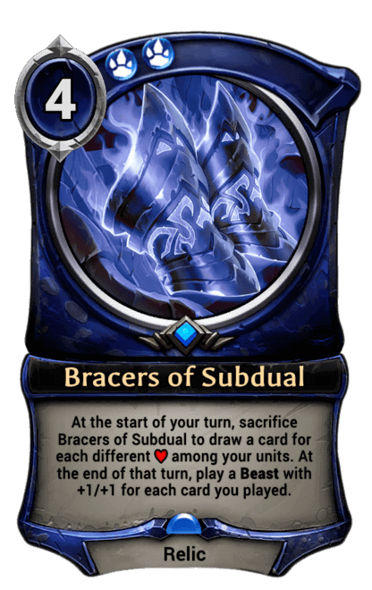 Card image for Bracers of Subdual