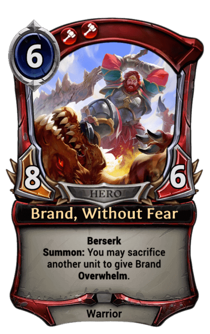 Card image for Brand, Without Fear