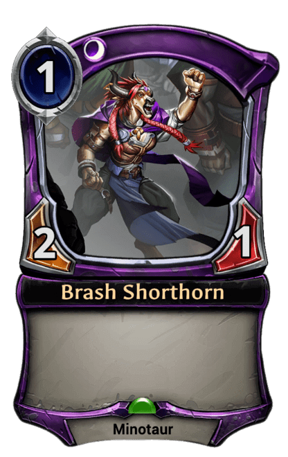 Card image for Brash Shorthorn