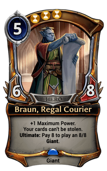 Card image for Braun, Regal Courier