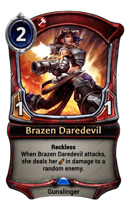 Card image for Brazen Daredevil