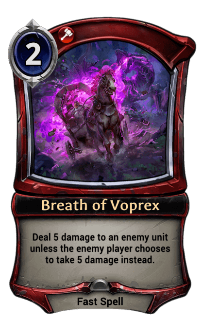 Card image for Breath of Voprex