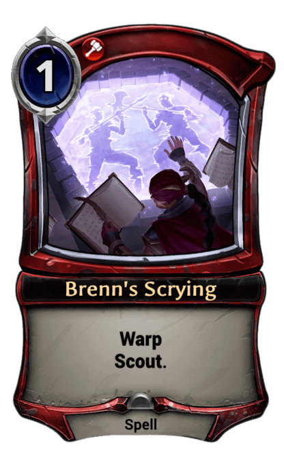 Card image for Brenn's Scrying