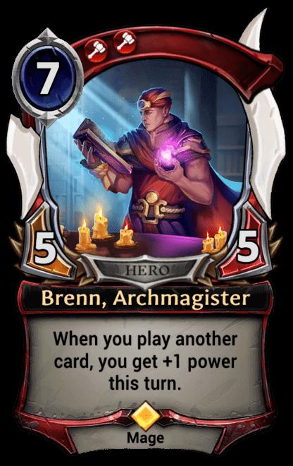 Card image for Brenn, Archmagister