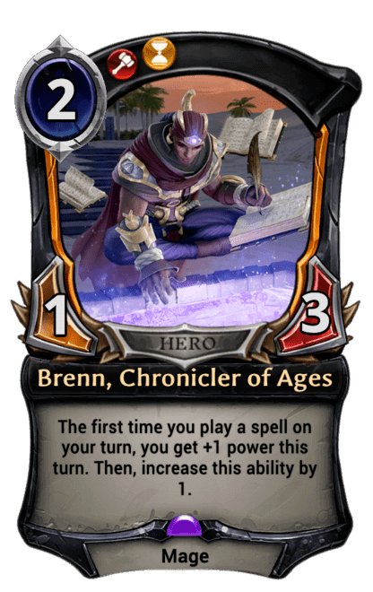 Card image for Brenn, Chronicler of Ages