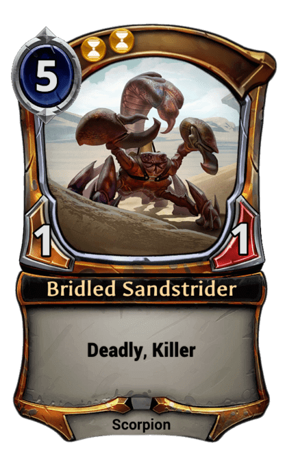 Card image for Bridled Sandstrider