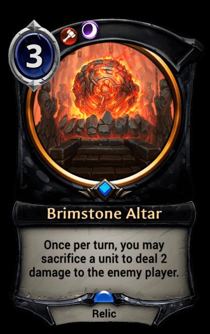 Card image for Brimstone Altar
