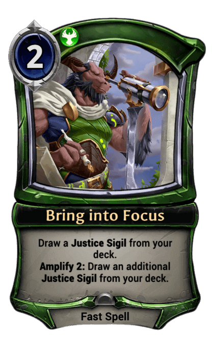 Card image for Bring into Focus