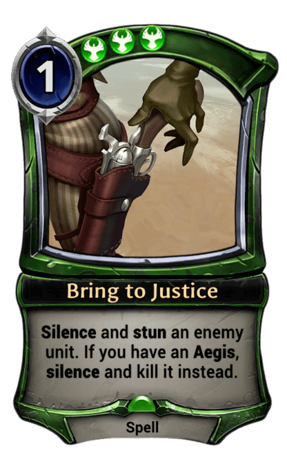 Card image for Bring to Justice
