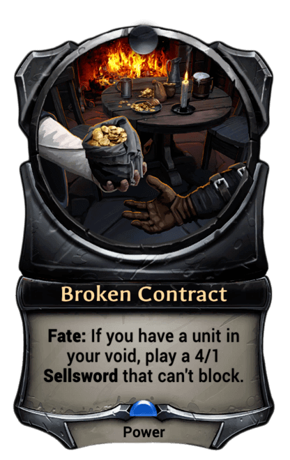 Card image for Broken Contract
