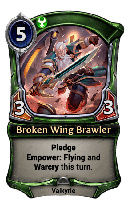 Card image for Broken Wing Brawler
