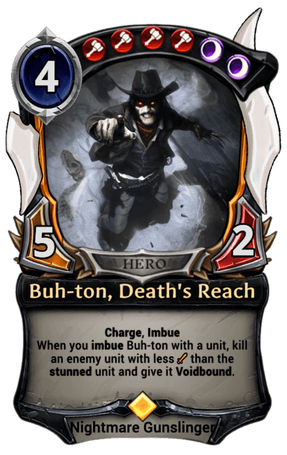 Card image for Buh-ton, Death's Reach