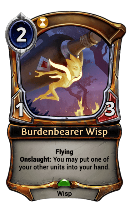 Card image for Burdenbearer Wisp