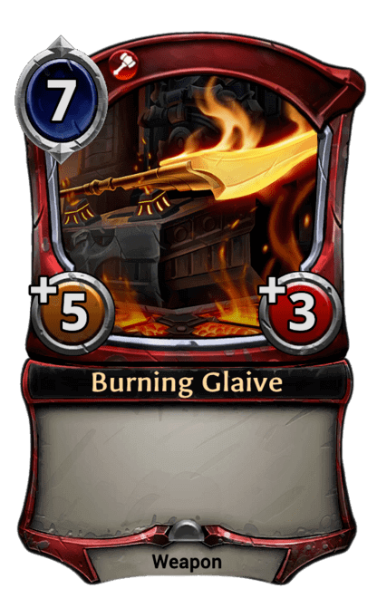 Card image for Burning Glaive