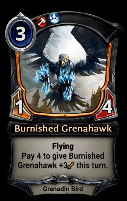 Card image for Burnished Grenahawk