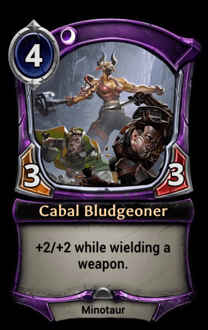 Card image for Cabal Bludgeoner